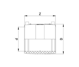Муфта электросварная Ø225 мм ПЭ100 SDR 11